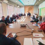 Takim i Asamblesë Rajonale të KSSH-së në Qarkun Vlorë